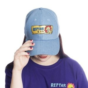 REPTAR BAR Rugrats Denim Hat NEW
